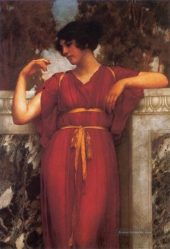 1898 Galerie - Der Ring 1898 Neoclassicist Dame John William Godward